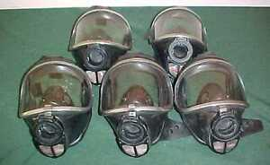 5 Draeger Drager Panorama Nova Scba Gas Air Full Face Mask Respirator R52972