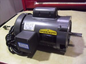 Baldor Motor 1 3 Hp 3450 Rpm Single Phase 115 230 Volt Frame 56c Model Kl1205a