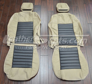 2005 2009 Ford Mustang Leather Seat Covers Upholstery New 05 06 07 08 09