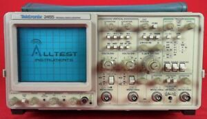 Tektronix 2465 300mhz Analog Oscilloscope