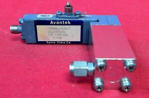 Avantek Smw86 1867 26 40ghz Amplifier 5 17db Gain 12v Sma 2 92mm Adapter