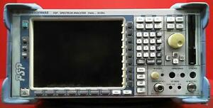Rohde Schwarz Fsp38 Spectrum Analyzer 9khz To 40ghz