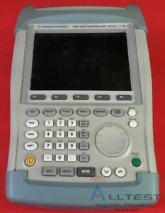 Rohde Schwarz Fsh6 Spectrum Analyzer 100 Khz 6 Ghz