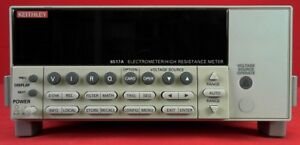 Keithley 6517a Electrometer high Resistance Meter With Ieee