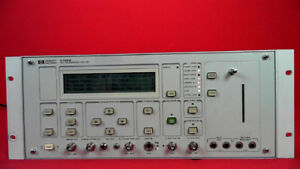 Hp Agilent Keysight 3789b Ds3 Transmission Test Set