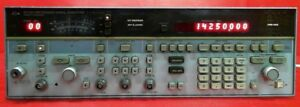 Hp Agilent Keysight 8673b Synthesized Signal Generator