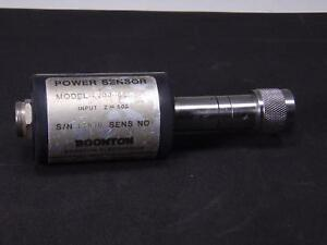 Boonton 4200 6e Power Sensor 100khz To 18ghz