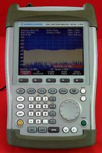 Rohde Schwarz Fsh3 Mobile Spectrum Analyzer 1145 5850 03