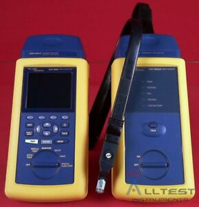 Fluke Networks Dsp 4000 Cable Analyzer Dsp 4000sr Smart Remote