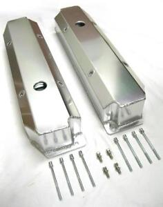 Big Block Plymouth Mopar Chrysler Dodge Fabricated Aluminum Valve Covers 383 440
