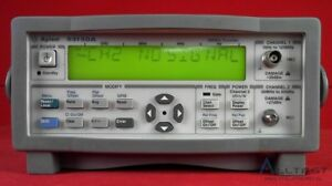 Agilent Keysight 53150a 001 Microwave Frequency Counter Dc 20 Ghz