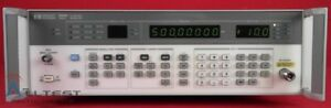 Hp Agilent 8656b Synthesized Signal Generator 0 1 To 990 Mhz