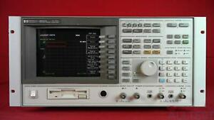 Hp Agilent Keysight 89410a Dc To 1 8 Ghz Vector Signal Analyzer
