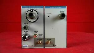 Tektronix Tr503 Tracking Generator With Tm5003 Mainframe