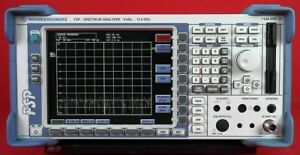 Rohde Schwarz Fsp13 Spectrum Analyzer 9 Khz To 13ghz 100707 013 W Options