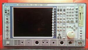 Rohde Schwarz Fsek30 Spectrum Analyzer 20 Hz To 40 Ghz 835713002