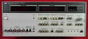 Hp Agilent Keysight 4275a Multi frequency Lcr Meter 10khz 10mhz 1851j00520