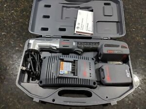 New Ingersoll Rand W5330 k2 Impact 3 8in 20v Li ion Right Angle 2 Batteries