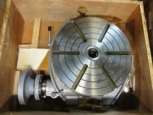 12 Rotary Machine Table 16 1 8 X 19 X 4 7 16 Center 1 1 4 4mt