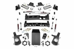 Rough Country 4 Non torsion Drop Lift Kit 99 06 Chevy Silverado 1500 4wd