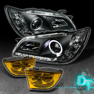 For 2001 2005 Lexus Is300 Drl Led Projector Headlights Bumper Fog Lamps Lights