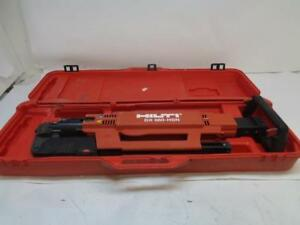Used Hilti Powder Actuated Upright Nail Metal Roof Decking Gun Nailer Dx 860 hsn