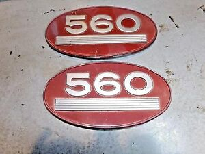 Farmall 560 Tractor Emblems Nice