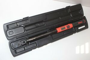 Snap on 1 2 Electronic Torque Wrench Techwrench Atech3fr250vo wow