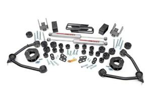 Rough Country 4 75 Body Lift Combo Kit 07 13 Chevy Silverado 1500 2wd