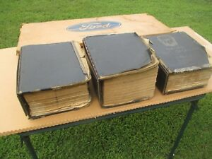 Oem Ford 1965 1972 Master Nos Parts Books Mustang Torino Fairlane Falcon Tbird