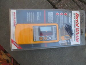 Nib David White Ld 12n Electronic Laser Detector receiver With Holder New