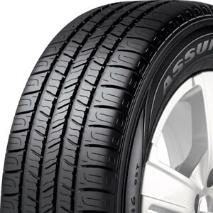 4 New 215 75 15 Goodyear Assurance All season 600ab Tires 2157515