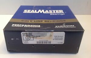 Sfc24 Sealmaster New Ball Bearing Flange Unit
