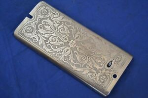 Face Plate Scroll Front Cover Plate Singer 99 Sewing Machine Original Vintage