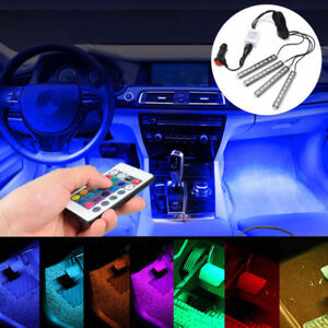 Kit Dash Full Foot Under Inside Color Seat Lamp Led Lighting Interior Car Glow