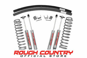 Rough Country 670n2 3 Lift Kit For Jeep 84 01 Cherokee Xj 4wd