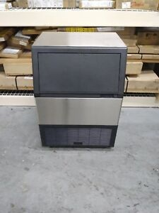New Under Counter Commercial Summit Ice Machine Stainless Steel 280 Lbs