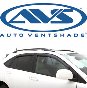 Avs 94191 Tape On Window Ventvisors 4 Piece 2011 2013 Mitsubishi Outlander Sport