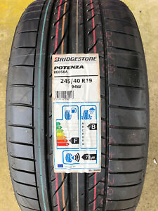 2 New 245 40 19 Bridgestone Potenza Re050a Tires