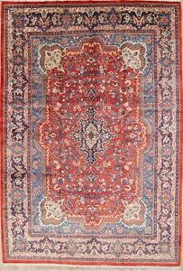 Excellent Vintage Breathtaking Pattern 10x14 Sarouk Persian Oriental Area Rug