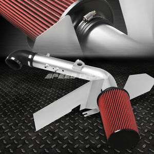 For 01 04 Tundra sequoia 4 7 Aluminum 3 silver Cold Air Intake Pipe heat Shield