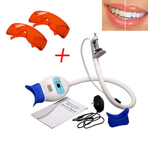 Dental Chair Teeth Whitening Cold Light Led Lamp Bleaching Accelerator W Goggle