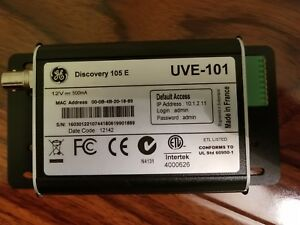 Ge Uve 101 Discovery 105 E Single Video Encoder