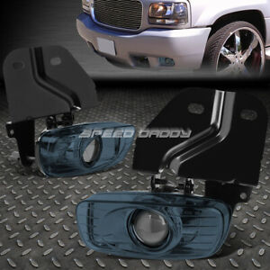 For 99 00 Cadillac Escalade Yukon Denali Sle Slt 5 7l Smoked Lens Fog Light Lamp