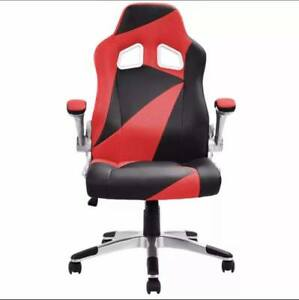 New Gamin Race Car Style Bucket Seat Office Desk Chair Gaming Chair With 4 Color