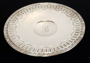 Sterling Silver Gorham Marie Antoinette 11 Centerpiece Tray 17 40 Toz 1950s