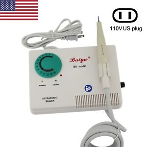 Baiyu Dental Ultrasonic Scaler Piezo Electric No Pain Autoclavable Handpiece Ems