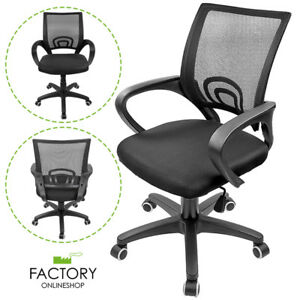 Ergonomic Midback Swivel Mesh Task Computer Office Chair Desk Seat Black New