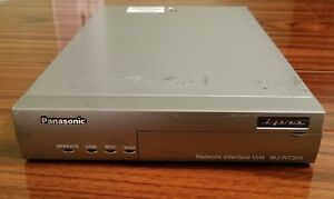 Panasonic Wj nt304 Network Interface Unit 4 channel Mpeg4 jpeg Video Encoder