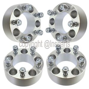 4 50mm 2 5x4 5 Wheel Spacers 12x1 5 Studs 5x114 3 Adapters Forged